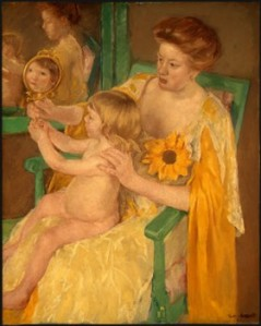 Mother and Child, Mary Casssatt, 1905